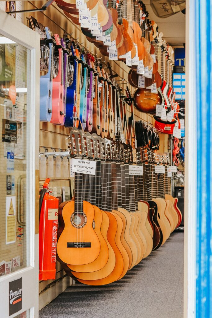 music shops glasgow